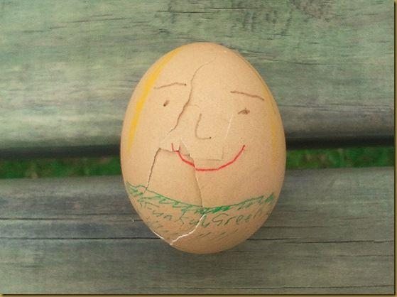 Me in egg form