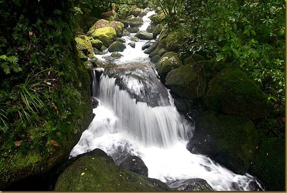 A waterfall which has nothing to do with anything