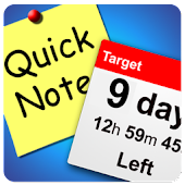 Days Until+Quick Notes Widgets