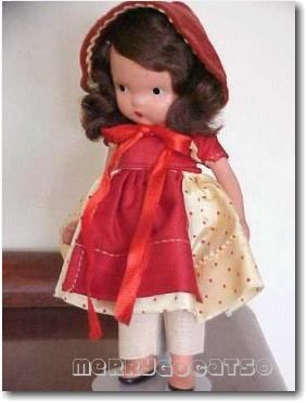 Nancy Ann Storybook doll bisque To Market To Market