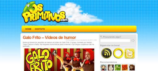 website Os primitivos