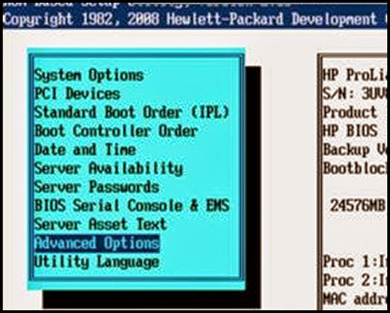 Enable VT and EVC in the Hewlett Packard (HP) BIOS | vCloudInfo