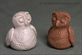 Owls. Salt and Pepper Shakers