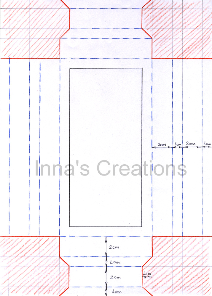 InnaS Creations How To Make A Simple Paper Frame