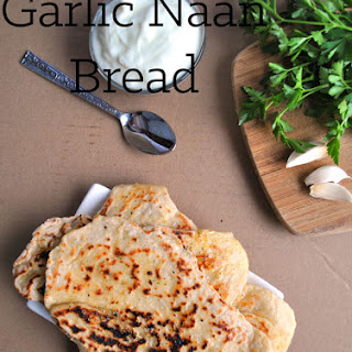 Simple Indian Garlic Naan Bread Recipe