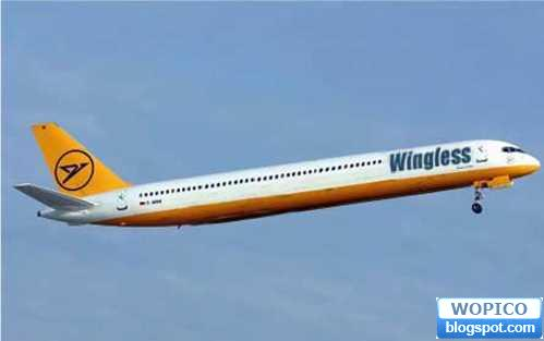 Wonderful Pic Colection No Wing Plane