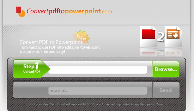 Powerpoint convert pdf online to