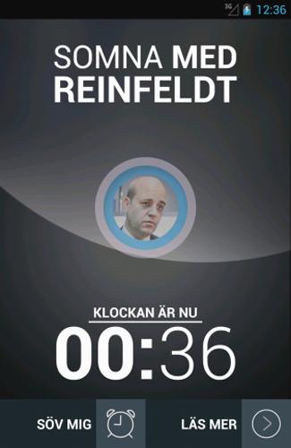 Somna med Reinfeldt