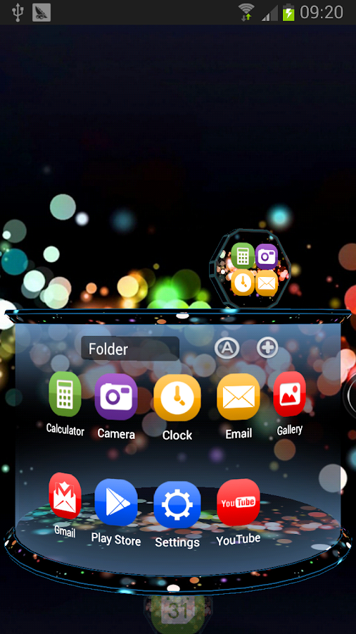 Color next launcher 3d theme android apps on google play for Wallpaper home launcher