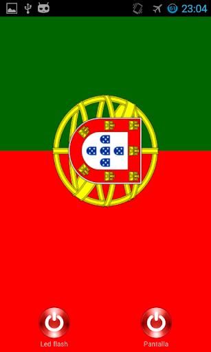 Lantern flash screen Portugal