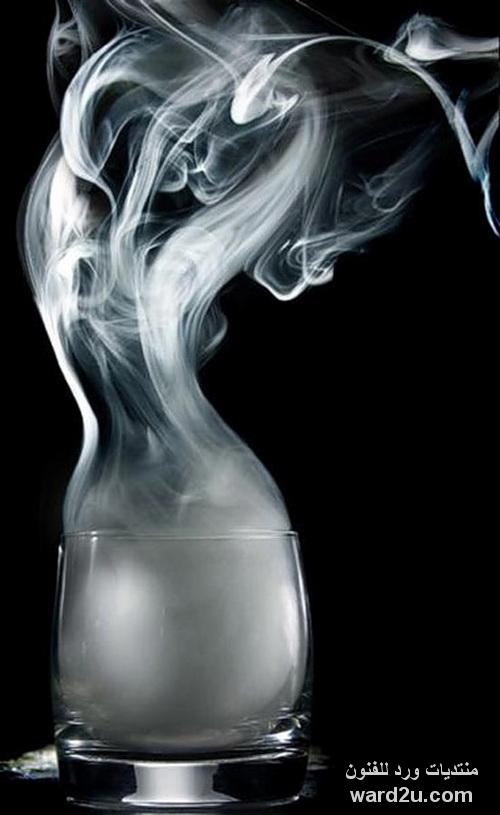 الرسم بالنار و الدخان لوحات رائعة