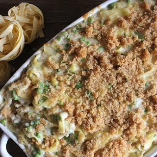 Creamy Tuna Noodle Casserole.
