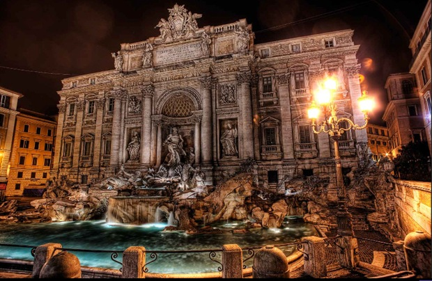 Stunning HDR Architecture Photography from Rome, Italy