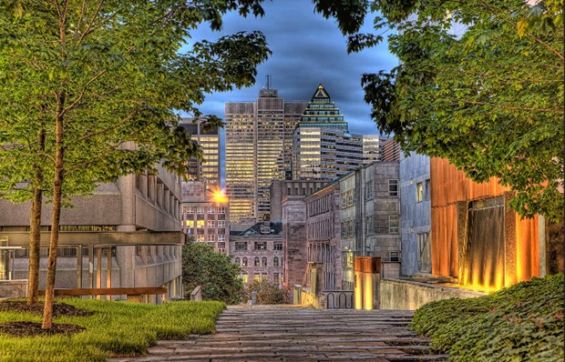 HDR Architecture Photography of Montreal, Canada