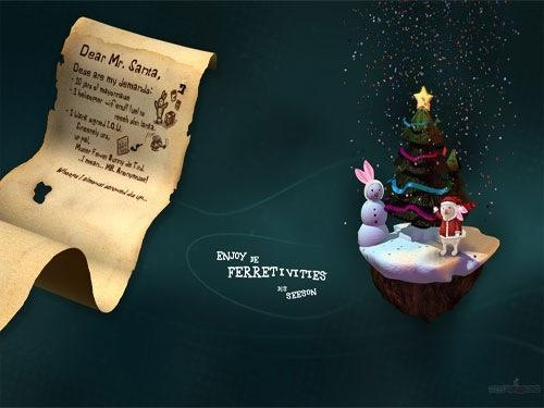 Letter To Santa in Christmas