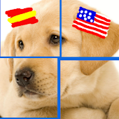 Spanish & Puzzles USA: Animals