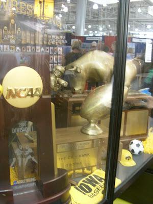 Iowa Football Trophies