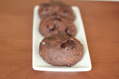 close-up photo of chocolate bread rolls on a plate