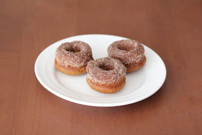 photo of a plate of mini donuts