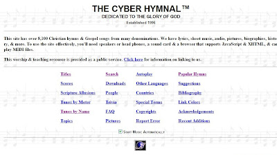 The Cyber Hymnal
