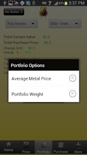 The Precious Metals Calculator - screenshot thumbnail