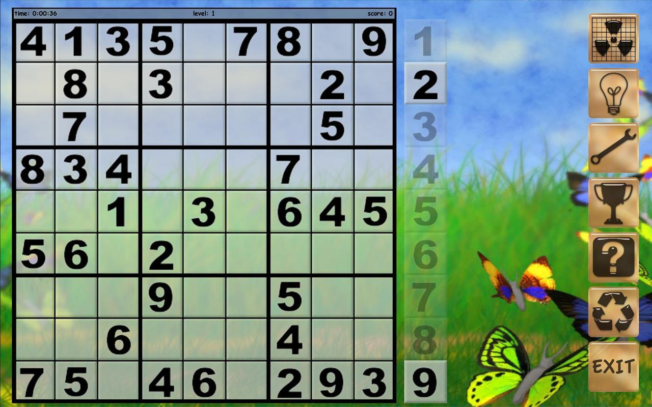 Sudoku XL- screenshot