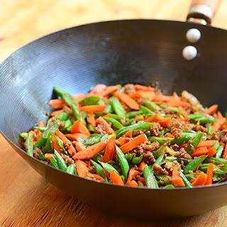 Pork and Green Bean Stir-fry.