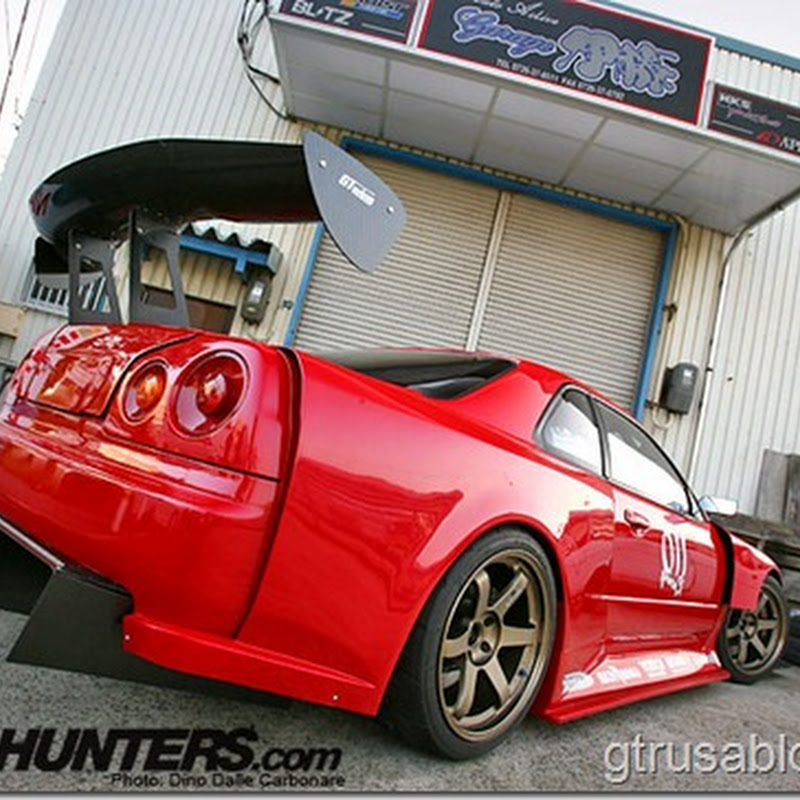 The Wildest R34 Skyline GT-R : Garage Ito With Prostock