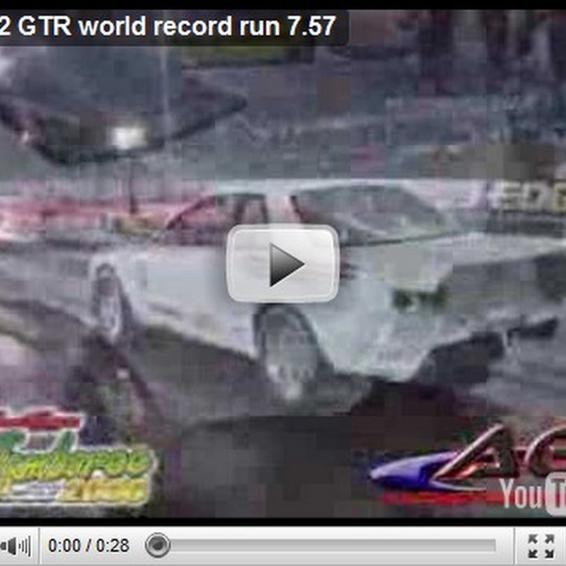Heat Treatments R32 GT-R : Fastest Skyline GT-R 7.57 @ 190 mph