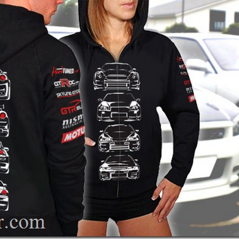 GT-R Blog GT-R Skyline Hoodies