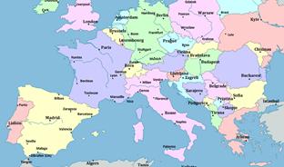 Cartina Europa Da Stampare Formato A4.Planisfero Da Stampare Formato A4 Acolore
