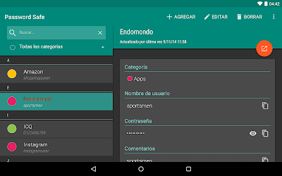 Password Safe and Manager Pro v5.6.3 APK 8