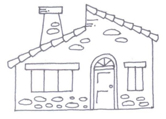 Dibujos De Casas Para Colorear Para Ninos: COLOREAR CASAS PARA NIÑOS