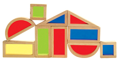 Rainbow Blocks ~ A Guidecraft Mom Review {& Giveaway Link!!!}