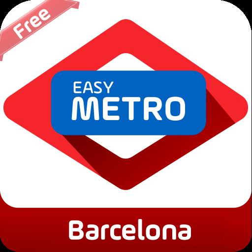 旅遊App|方便的地鐵地圖巴塞羅那 LOGO-3C達人阿輝的APP