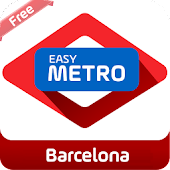 Easy Metro map Barcelona