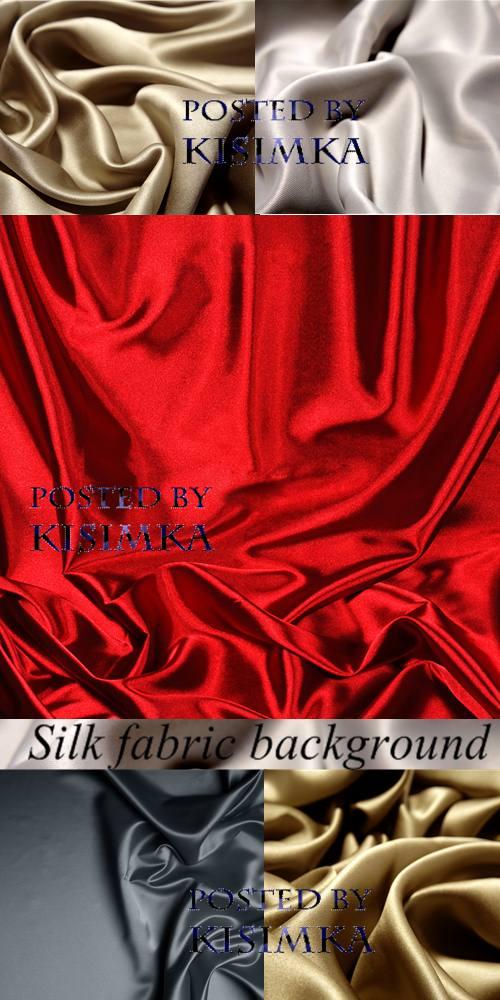 Stock Photo: Silk fabric background