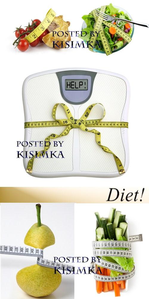 Stock Photo: Diet!
