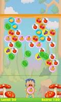 Screenshot of Fruit Bubble Shooter