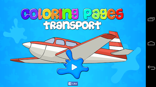 Coloring Pages Transport