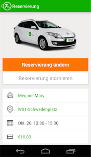Zipcar – Miniaturansicht des Screenshots
