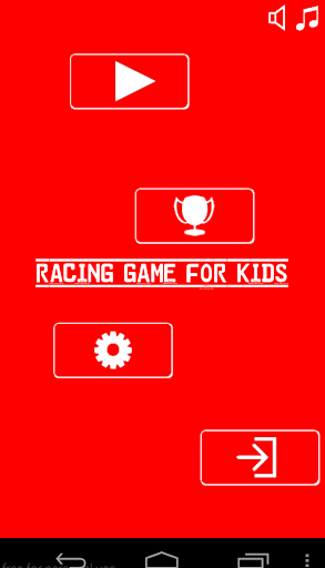 Racing game for kids free