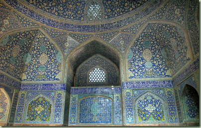 emam mosque interior wiki