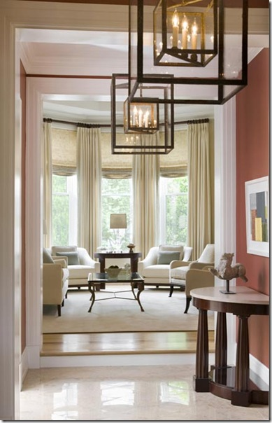 Lighting Basement Washroom Stairs: DesignTies: Carter & Company Interior Design