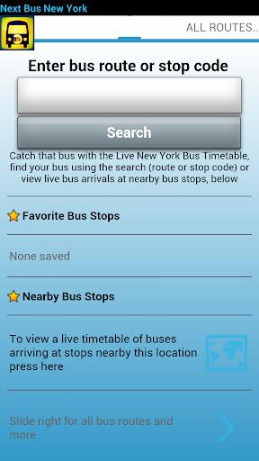 Next Bus New York + Widgets