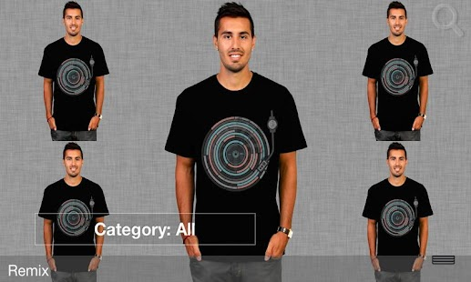 Men's T-Shirt Store Plus App - screenshot thumbnail