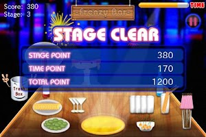 Screenshot of Cocktail Frenzy Bar