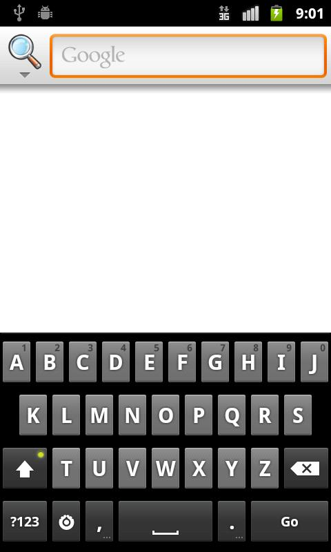 Keyboard for Dyslexics- screenshot
