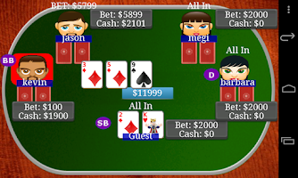 Screenshot of Texas Holdem Poker Bil