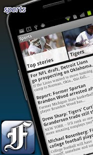 Detroit Free Press - screenshot thumbnail
